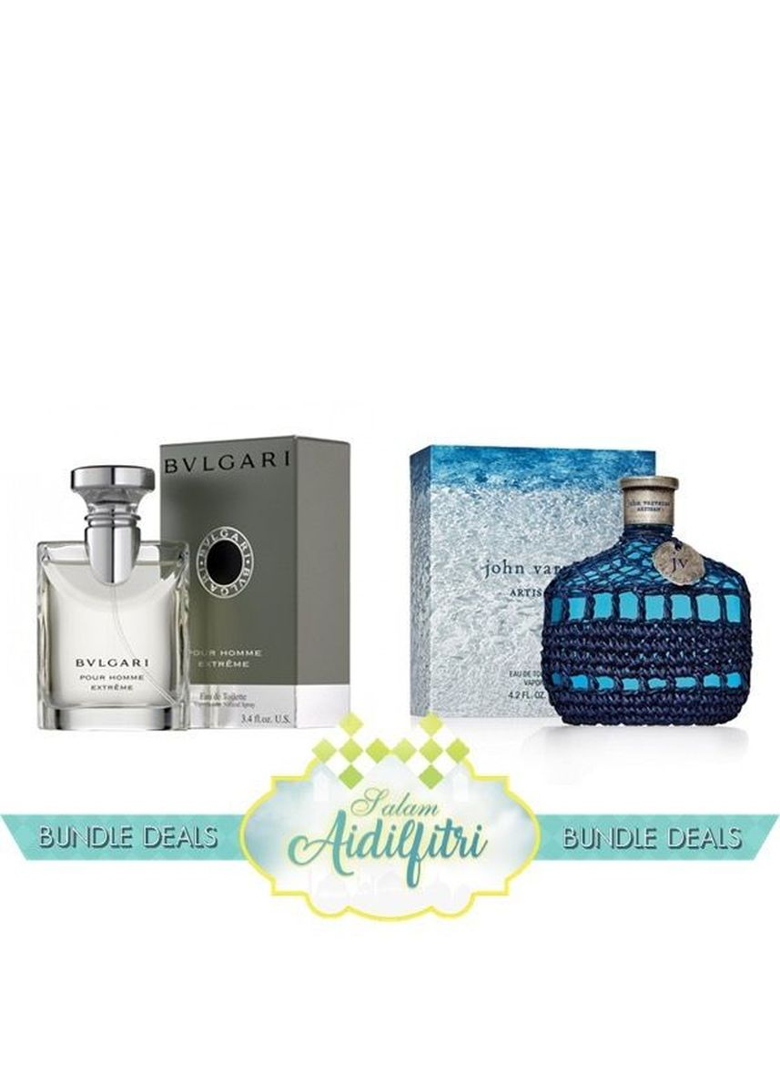 Bvlgari Pour Homme Extreme Edt Men 100ml John Varvatos Artisan Parfum For 100 Ml Blu 125ml No Color Rely